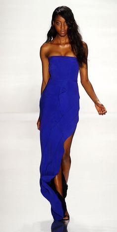 blue long dress #alice257891 #bluefashion  www.2dayslook.com