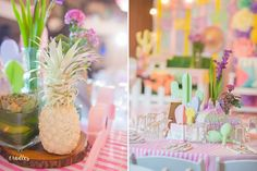 Rayn's Chic Mexican Birthday Fiesta – Table centerpiece