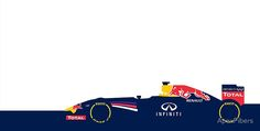 2014 Formula 1 Red Bull Racing car design. Sebastian Vettle, Daniel Ricciardo