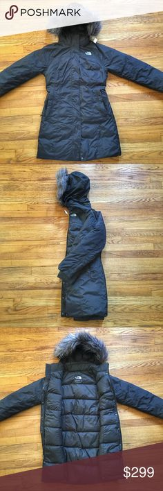 NWOT The North Face Hyvent Arctic Down Parka NWOT The North Face Hyvent Arctic Down Parka.  Size small.  Faux fur hood that is removable. See something you like but it's not here next week? We sell in store & across multiple platforms, items go quick! North Face Jackets & Coats