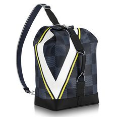 cdfa6cf22dd Sac Marin Damier Cobalt Canvas in Men s America s Cup 2017 collections by Louis  Vuitton