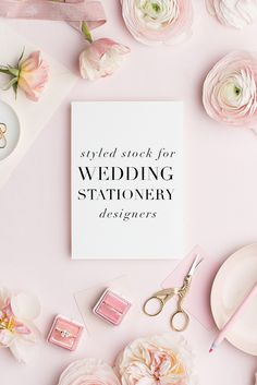 Styled stock photography for wedding stationery designers and wedding related businesses! Stock images for inserting and showing off your stunning stationery designs. A collaboration with MaeMae & Co. and the SC Stockshop!