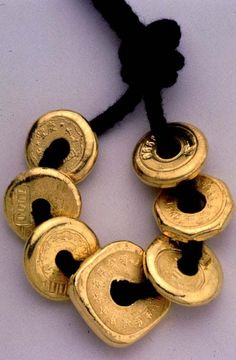 (Qing dynasty) Chinese Gold coins. Qing dynasty.