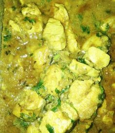 Simple chicken curry for children