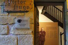 Casa museo de Victor Hugo (dónde vivió en 1843), en Pasai Donibane BASQUE COUNTRY