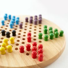 Classic Wood Chinese Checkers Game