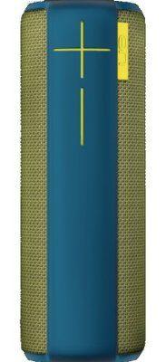 UE Boom tragbarer Bluetooth Lautsprecher (360° Sound, spritzwassergeschützt, 15 Meter kabellose Reichweite) grün