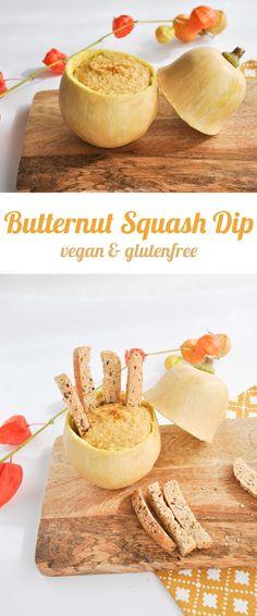 Vegan & Gluten-free Butternut Squash Dip | ElephantasticVegan.com