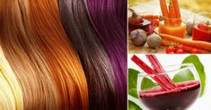 Paint your hair without chemicals with homemade and natural dyes Beauty Secrets, Diy Beauty, Beauty Hacks, Organic Hair Dye, Pelo Natural, Body Treatments, Quick Hairstyles, Hair Humor, Hair Hacks