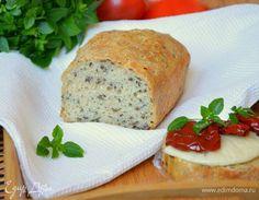 Ночной Шведский хлеб без замеса. Ингредиенты: мука, вода, дрожжи свежие