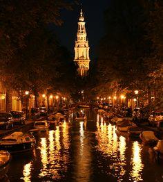 Amsterdam by Night, Netherlands
