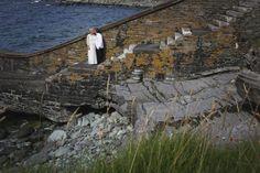 Married on an Island off Ireland's West Coast - West Coast Weddings Ireland Speed Boats, Our Wedding Day, West Coast, Real Weddings, Ireland, Destination Wedding, House Styles, Beautiful, Fast Boats