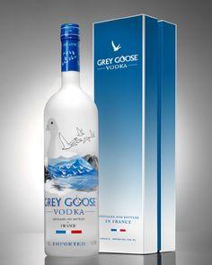 Grey Goose Vodka, the only vodka I like