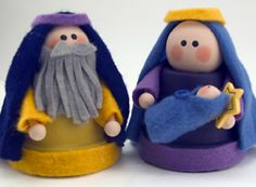 Clay Pot Nativity
