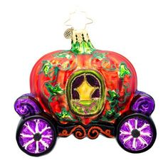 Christopher Radko Midnight Coach Ride Ornament another oddball we accumulated. Halloween Christmas Tree, Halloween Iii, Old World Christmas Ornaments, Halloween Ornaments, Noel Christmas, Halloween Themes, Winter Christmas, Vintage Christmas, Halloween Designs