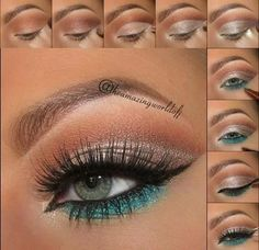 Look summer eye Make-up is an activity that gives an attractive appearance for various purposes, Pretty Makeup, Love Makeup, Makeup Inspo, Makeup Inspiration, Unique Makeup, Makeup Geek, Makeup Goals, Makeup Hacks, Makeup Tips