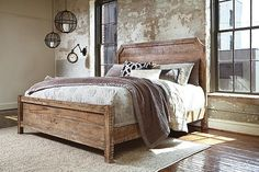Fanzere Queen Panel Bed