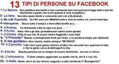 13 Tipi di persone su Facebook