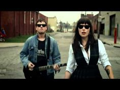 This simply kicks a$$.  Doesn't hurt that the lead singer is, um, nice to look at.  Sleigh Bells - Infinity Guitars