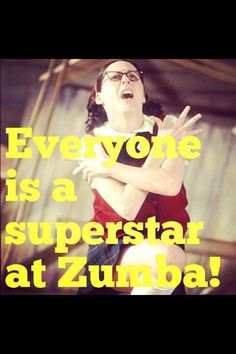 Zumba for the uncoordinated @melyw @monicamdonaldso
