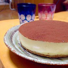 今日は8年記念日 - 28件のもぐもぐ - ティラミスをホールケーキに!! by miyuterrison