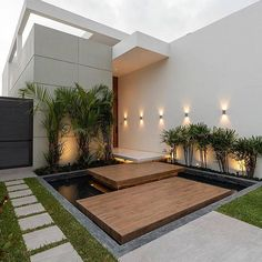Modern Villa by [IG]! 🏡 Which design part is your favorite? Amazing Architecture, Modern Architecture, Amazing Buildings, Best Living Room Design, House Ideas, Backyard Garden Design, Backyard Seating, Modern Backyard, Backyard Ideas