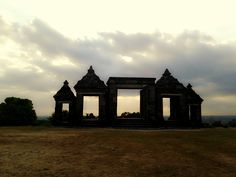 Ratu Boko Temple,Sunset, beautiful