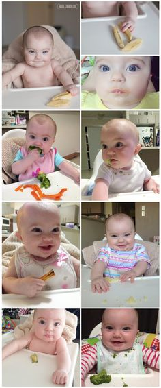 Our Experiences With Baby Led Weaning