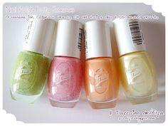 Nail Polish 01, 02, 04 e 05 Fruity @Emma Zangs Hardman cosmetics