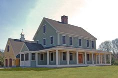 Farmhouse Style House Plan - 4 Beds 2.5 Baths 3072 Sq/Ft Plan #530-3 Exterior - Front Elevation - Houseplans.com