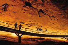 Baixão da Pedra Furada, no Parque Nacional da Serra da Capivara, no Piauí