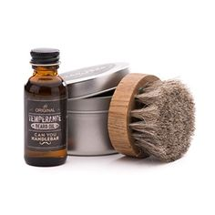 Temperance Beard Oil with Horsehair Beard Oil Brush Set  Natural Unscented -- Click image to review more details.Note:It is affiliate link to Amazon.