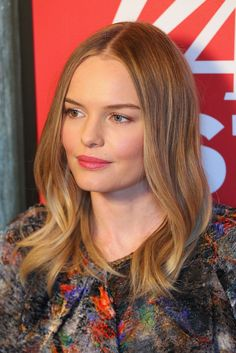 Kate Bosworth: Kate Bosworth hit up the Variety Studio, where she wore smooth waves and a pink lip hue.