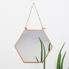Looking for a new mirror? This hanging geometric copper mirror is just what you need. Get it from Lisa Angel with Free Worldwide Delivery on Every Order.