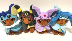 Win a Set of Japan Pokemon Center 2017 Eevee Poncho plush toys. They were only available at the Pokemon Centers in Japan, for a very limited time and in very limited quantity. They are soft and cuddly. Made of soft material (polyester). 100% authentic, directly from Japan. One Winner will receive ALL 8 Eevee Plushies dressed in ponchos (Espeon, Flareon, Glaceon, Jolteon, Leafeon, Sylveon, Umbreon & Vaporeon). Its absolutely 100% FREE to enter. We will ship the prize to the winner and we w...