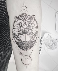 Nouvelle Rita hedgehog tattoo