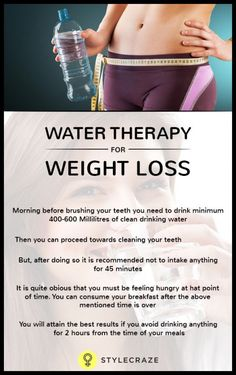 How does water therapy for weight loss work? Wellness Tips, Health And Wellness, Health Tips, Health Fitness, Water Water, Water Life, Healthy Diet Recipes, Healthy Options, Healthy Life