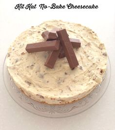 photo credit Lisa from Luxe Addition Serves 6 – 8 This recipe has been posted by popular demand! Cheesecake and Kit Kats are two of Simon's favourite things so, I had no choice but to make hi…