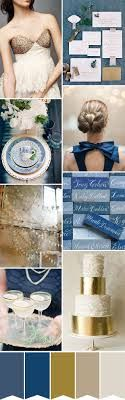 royal blue gold and silver wedding - Google Search