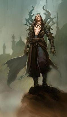 Sorcerer character concept