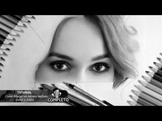 Como dibujar un retrato por escalas paso a paso ( con divisor de proporciones ) - YouTube