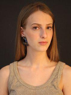 Gypsy Titanium earrings chunky earrings light by OakaTitan