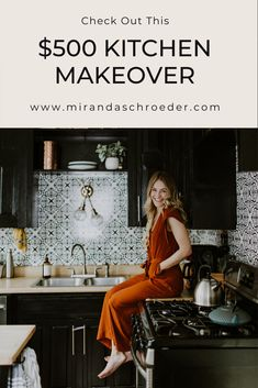 This blogger completely transformed her kitchen for $500 | Miranda Schroeder Blog  www.mirandaschroeder.com