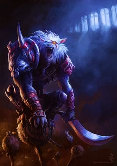 Here kitty kitty.... Rengar, Digi-Art Throwdown (League of Legends) by ~Artomsk on deviantART