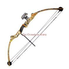 55 lb. Compound Archery Bow w/ Pin Sights - Autumn Camo  #Archery #Compund #Bow #Arrow #Outdoors #Christmas #Gift #Present  Product Code - http://www.thecrossbowstore.com/55-lbs-29-Compound-Bow-Set-Autumn-Camo-p/mk-cb55ac.htm