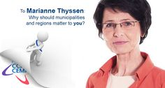 Marianne Thyssen, why should municipalities and regions matter to you? bit.ly/1f9Re7x