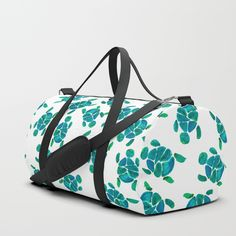 Turtle Pool Party Duffle Bag by ANoelleJay | Society6 Travel In Style | Gift art for the holidays by @anoellejay @society6