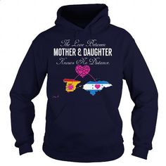 THE LOVE BETWEEN MOTHER AND DAUGHTER - Spain Honduras - #teeshirt #vintage t shirts. ORDER HERE => https://www.sunfrog.com/States/THE-LOVE-BETWEEN-MOTHER-AND-DAUGHTER--Spain-Honduras-Navy-Blue-Hoodie.html?60505