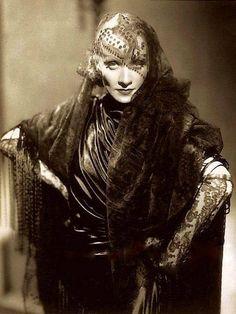 """Marlene Dietrich in """"The Devil is a Woman"""", 1935."""