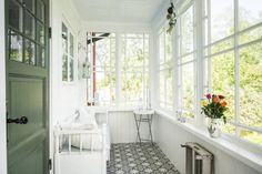 Front Verandah, Alcove, Villa, Bathtub, Windows, Country, House, Porches, Koti
